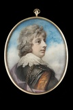 Portrait of William, 3rd Viscount Courtenay Giclee Print by Richard Cosway