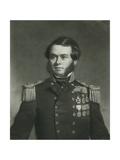 Rear-Admiral Sherard Osborn, Engraved by Herbert Davis, 1861 Giclee Print by Stephen Pearce