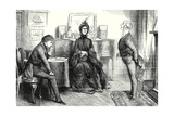 """You Have Heard Miss Murdstone,"" Said Mr. Spenlow, Turning to Me', Illustration from 'David… Giclee Print by Frederick Barnard"