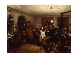 The Post House, 1859 Giclee Print by Felix Schlesinger