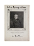 Portrait of John Quincy Adams, C.1825 Giclee Print by Nathaniel Dearborn
