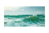 A Breaking Wave, 1894 Giclee Print by David James