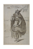 Queen Candace, C.1609 Giclee Print by Inigo Jones