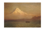 Sunrise on Mount Tacoma Giclee Print by Albert Bierstadt
