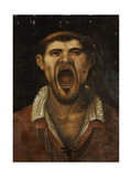 A Peasant Man Shouting Giclee Print by Annibale Carracci