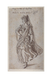 Queen Atalanta, 1609 Giclee Print by Inigo Jones