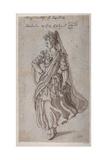 Queen Atalanta, 1609 Giclee Print by Inigo Jones