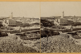 Mishkenot Sha'Ananim, 1860s Photographic Print by Mendel John Diness