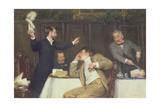 Shakespeare or Bacon Giclee Print by Alfred Edward Emslie