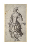 Unidentified Queen Giclee Print by Inigo Jones