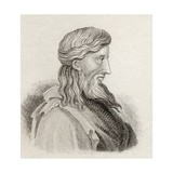 Callisthenes of Olynthus, from 'Crabb's Historical Dictionary', Published 1825 Giclee Print
