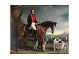 Henry Lascelles, 3rd Earl of Harewood, 1848 Giclee Print by Sir Francis Grant