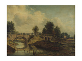 The Bridge over the River Stour Giclee Print by Frederick Waters Watts