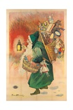 Father Christmas, 1893 Giclee Print by Firmin Bouisset