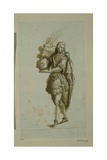 Page Bearing a Helmet Giclee Print by Inigo Jones