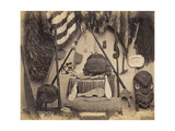 Maori Curios, 1870s Giclee Print by  Pulman Studio