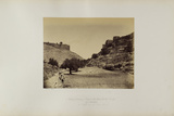 Valley Between Siloam and the Mount of the Temple from the South Photographic Print by James Graham
