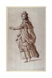 A Lady as a Naiad Giclee Print by Inigo Jones
