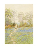 Bluebells Giclee Print by Helen Allingham