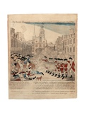 The Bloody Massacre Perpetrate in King-Street Boston on March 5th 1770 by a Party of the 29th… Giclee Print by Paul Revere