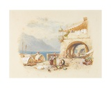Bellagio, Lake Como, C.1850-75 Giclee Print by Myles Birket Foster