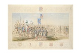 Baron Glenlyon, Knight of the Gael, 1839 Giclee Print by James Henry Nixon