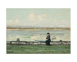 The Lune at Sunderland Point Giclee Print by William Page Atkinson Wells
