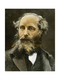 Maxwell, James Clerk (1831- 1879). Scottish Physicist Giclee Print