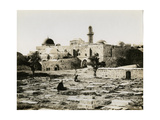 Mount Zion with the Tomb of David and the Cenacle, 1850s Giclee Print by Mendel John Diness
