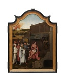 Central Panel of the Triptych of Job, C.1500-24 Giclee Print by Hieronymus Bosch