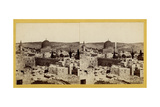 Panoramic View of the Temple Area, 1850s Giclee Print by Mendel John Diness
