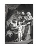 Elizabeth Woodville Surrendering Her Son Giclee Print by John Opie