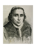 Pius VII (1740-1829). Italian Pope Giclee Print
