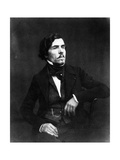 Portrait of Eugène Delacroix Photographic Print by  Nadar