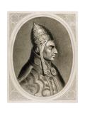 Pius II (1405-1464). Italian Pope Giclee Print