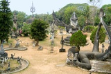 Xieng Khuan, the Buddha Park Photographic Print
