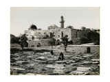 Mount Zion, the Tomb of David, 1850s Giclee Print by Mendel John Diness