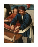 Detail of the Flaying of Sisamnes, 1498 Giclee Print by Gerard David