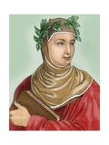 Boccaccio, Giovanni (1313-1375). Italian Writer Giclee Print