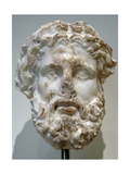 Greek Art. Hellenistic. Marble Head of a God, Probably Zeus. Metropolitan Museum of Art. New… Giclee Print