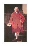 Cadwallader Colden, 1772 Giclee Print by Matthew Pratt