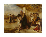 The Repentant Prodigal's Return to His Father Giclee Print by William Etty