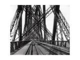 On the Forth Bridge, C.1890 Photographic Print