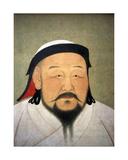 Kublai Khan, 1294 Giclee Print by  Araniko or Anige