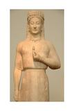 Grrek Art. Kore by Aristion. VI Century B.C. Giclee Print
