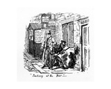 Practising at the Bar', 1828 Giclee Print by George Cruikshank