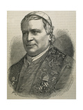 Pius IX (1792-1878). Italian Pope Giclee Print