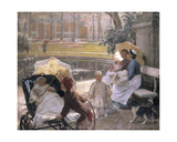 At the Corner of the Park Giclee Print by Edgard Farasyn