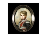 Portrait of Napoleon-Andoche D'Abrantes as a Young Boy Giclee Print by Ferdinand Quaglia