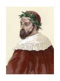 Ariosto, Ludovico (1474-1533). Italian Poet Giclee Print